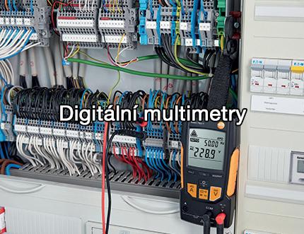 Digitální multimetry