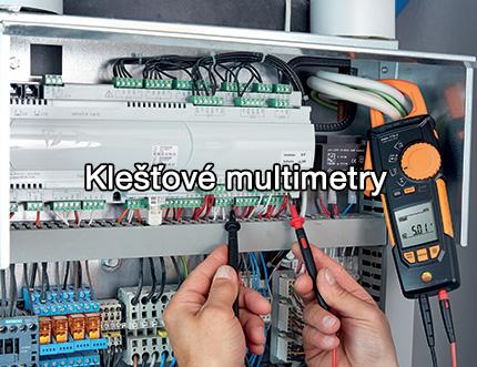 Klešťové multimetry