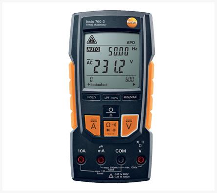 Digitální multimetr testo 760-3